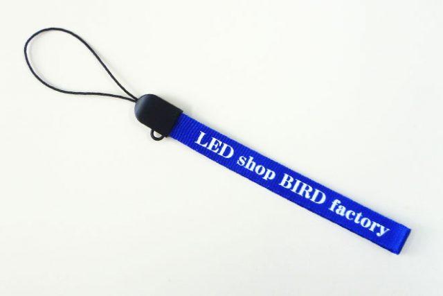 携帯ストラップ LED shop BIRD factoryさま