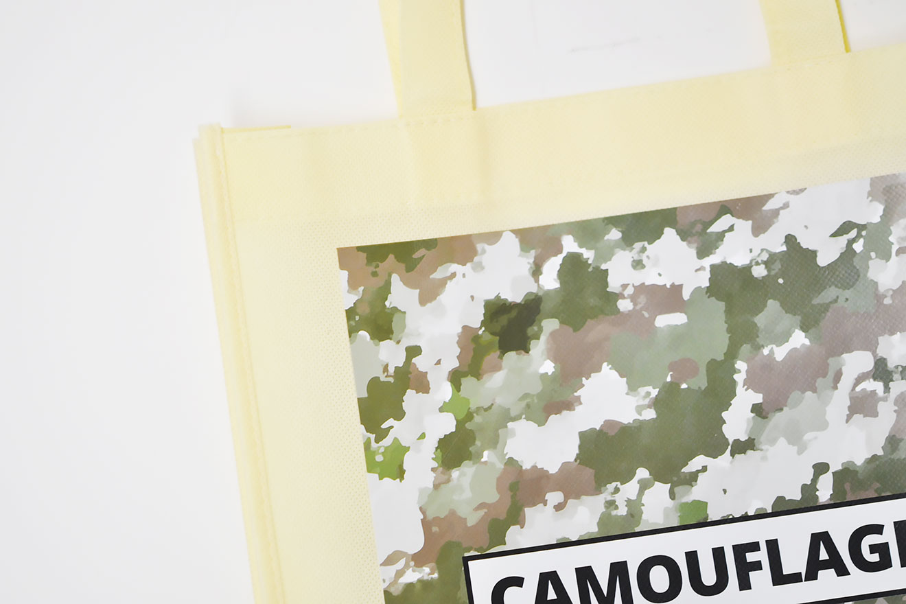 不織布トートバッグにオリジナルデザインを印刷