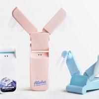 携帯型ミニ扇風機