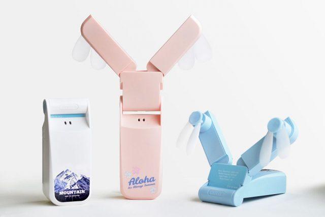 携帯型ミニ扇風機のオリジナル製作