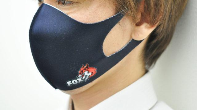 顔にフィットする立体型のマスク