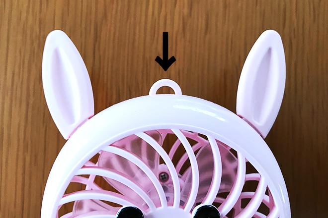 首掛け扇風機の簡単な作り方